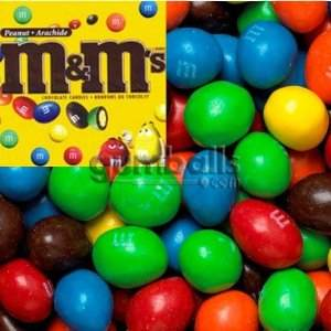 m&ms peanut candy candies